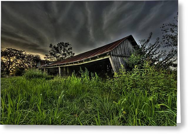 Barn Storm Greeting Card