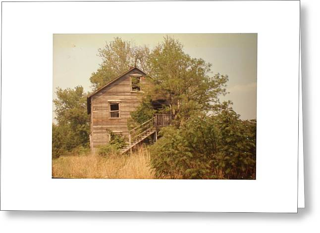 Barn Wood Homestead Greeting Card by Hal Newhouser