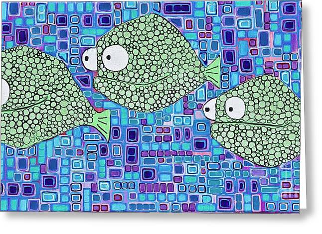 Barnacle Fish Greeting Card