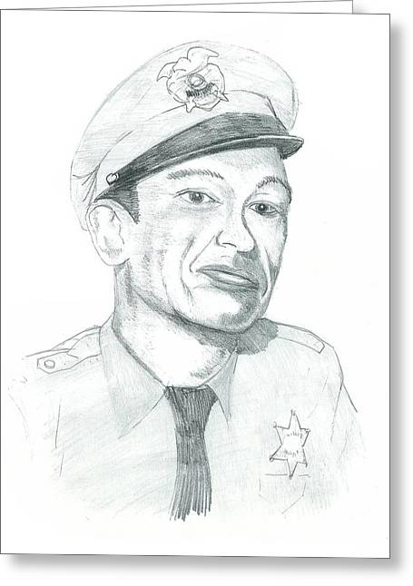 Andy Griffith Show Greeting Cards - Barney fife Greeting Card by Thomas Elliott