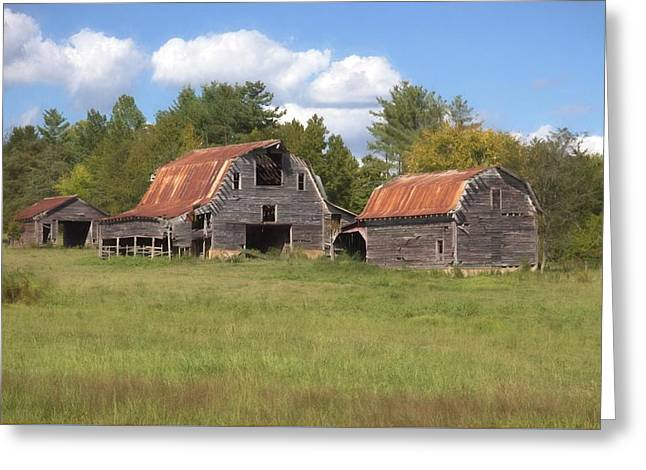 Barnville, Usa Greeting Card by Benanne Stiens