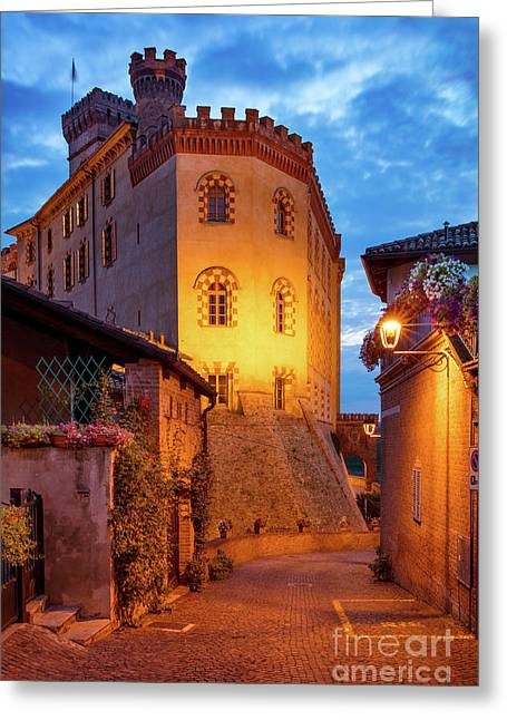 Barolo Morning Greeting Card by Brian Jannsen