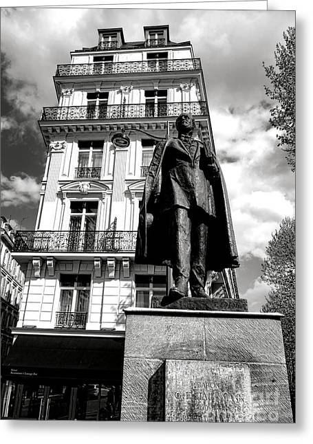 Baron Hausmann Greeting Card by Olivier Le Queinec