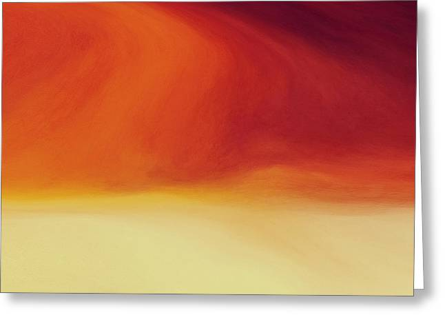 Barren Lands Greeting Card by Lonnie Christopher