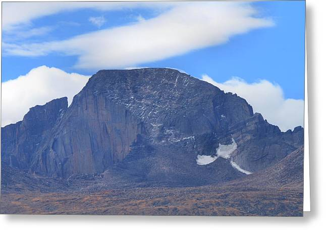 Greeting Card featuring the photograph Barren Mountain Landscape Colorado by Dan Sproul