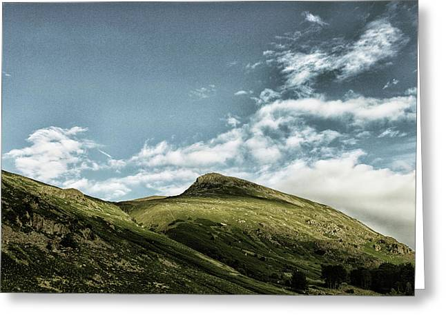 Barrenlands Greeting Card by Martin Newman