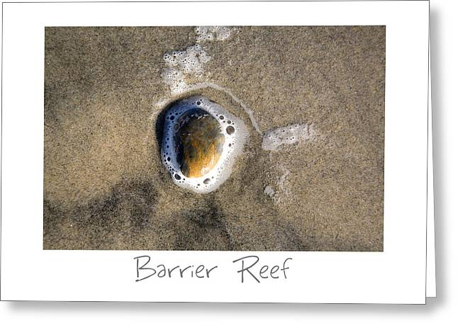 Barrier Reef Greeting Card by Peter Tellone