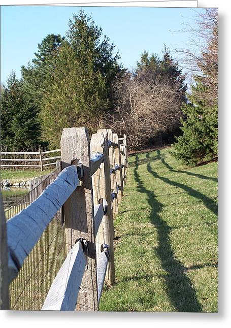 Barriers Greeting Card by Vijay Sharon Govender