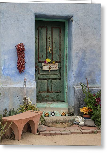 Barrio Door Greeting Card