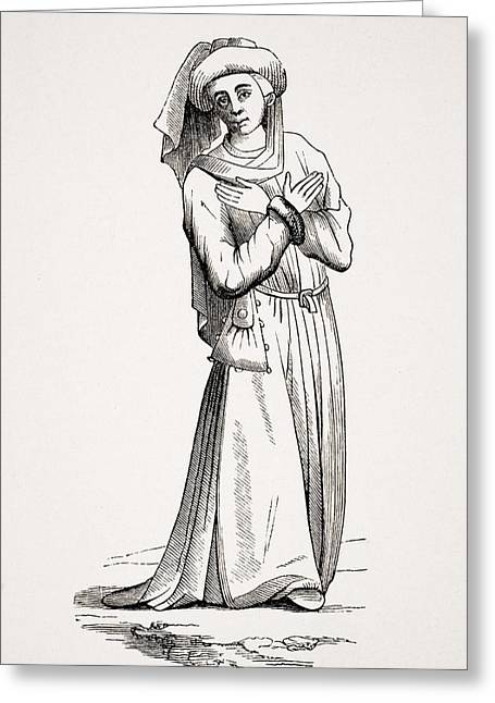 Barrister.19th Century Reproduction Of Greeting Card