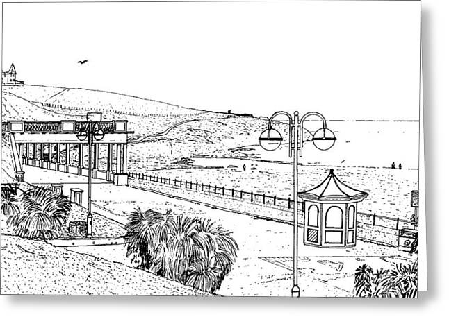 Barry Island Number 2 Greeting Card