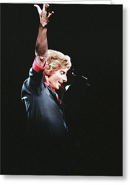 Barry manilow greeting cards fine art america barry manilow greeting card bookmarktalkfo Image collections