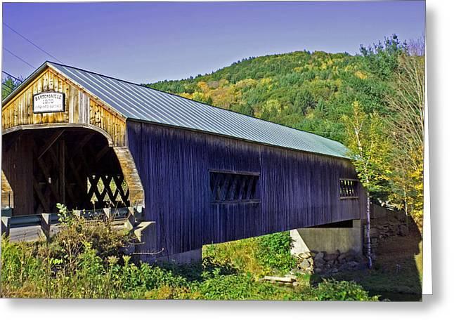 Bartonsville Bridge Greeting Card