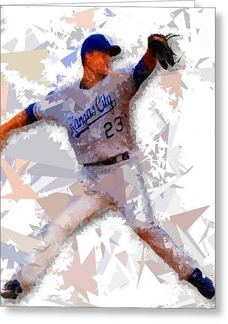 Baseball 23 Greeting Card by Movie Poster Prints