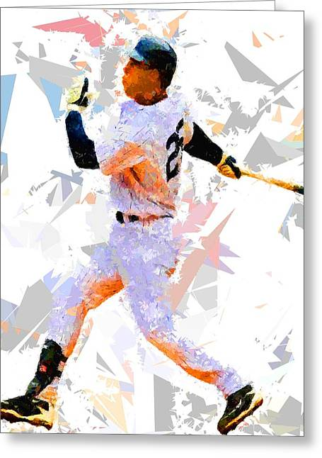 Baseball 25 Greeting Card by Movie Poster Prints