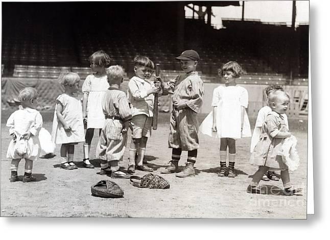 Baseball, Americas National Pastime Greeting Card
