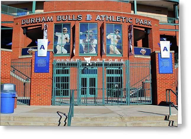 Baseball Stadium Greeting Card