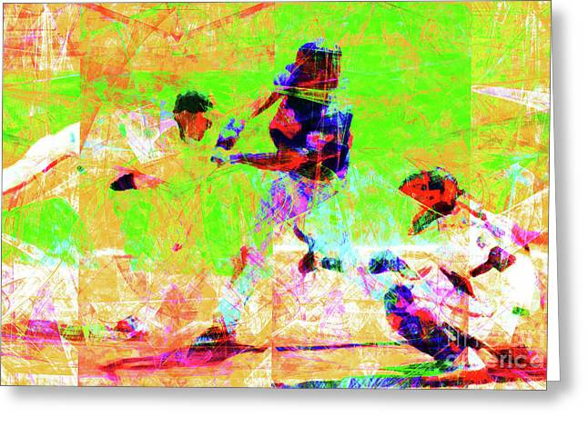 Baseball The All American Pastime 20160801 Greeting Card by Wingsdomain Art and Photography