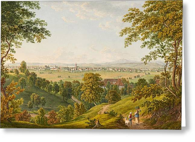 Basel From The South Greeting Card