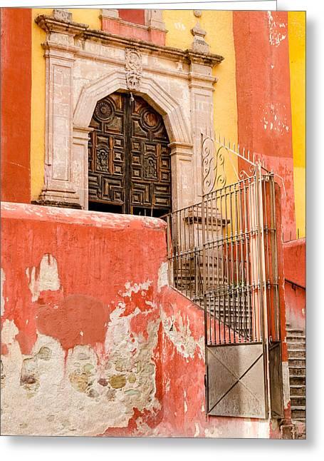 Basilica Colegiata De Nuestra Senora. Greeting Card