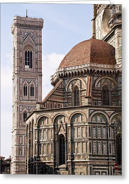 Basilica Di Santa Maria Del Fiore  Greeting Card by Carl Jackson