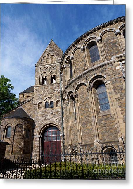 Basilica Of Our Lady In Maastricht Netherlands Greeting Card