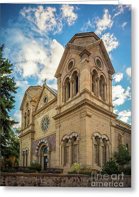 Basilica Of St. Francis Of Assisi Greeting Card