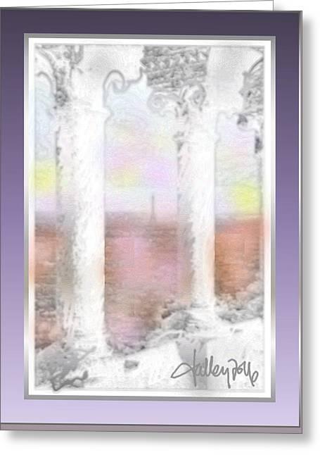 Sacre - Coeur Sunset Greeting Card