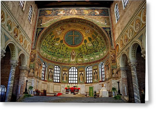 Basilica Of Sant' Apollinare In Classe Greeting Card
