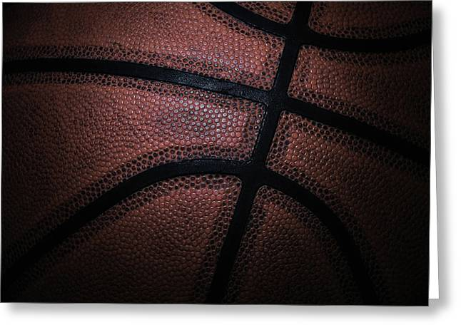 Basketball Greeting Card by Zoltan Toth
