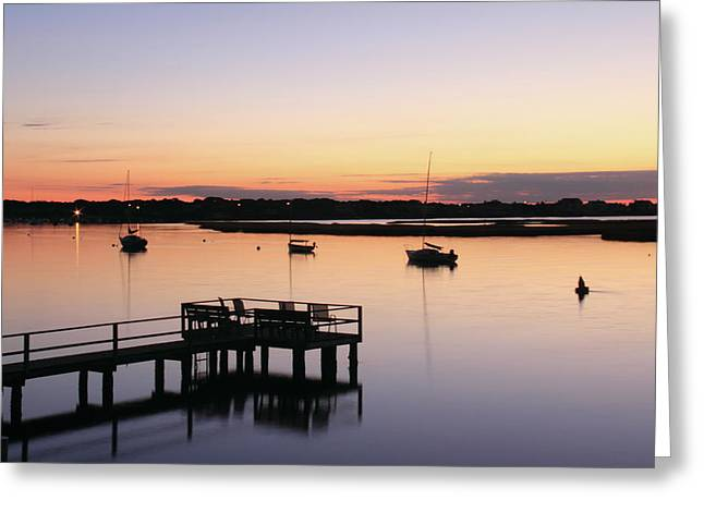 Bass River Before Sunrise Greeting Card
