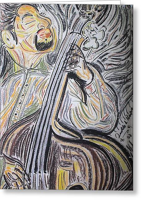 Bassman Greeting Card by Diallo House