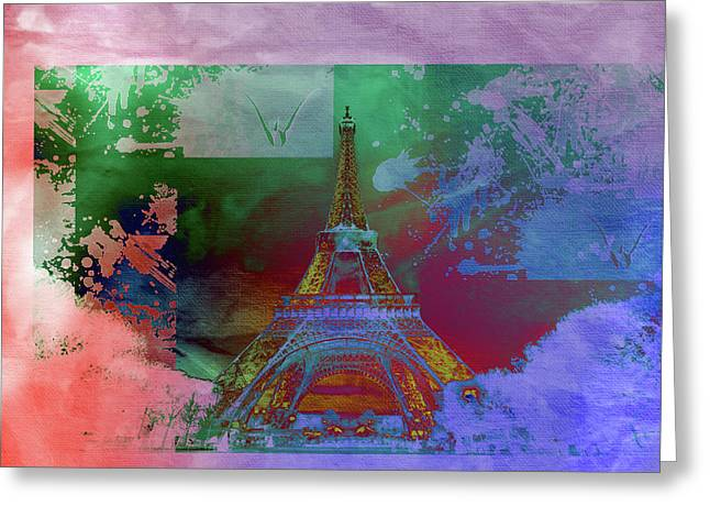 Bastille Day 10 Greeting Card by Priscilla Huber