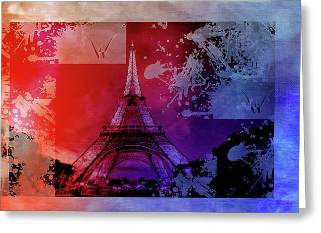 Bastille Day 12 Greeting Card by Priscilla Huber