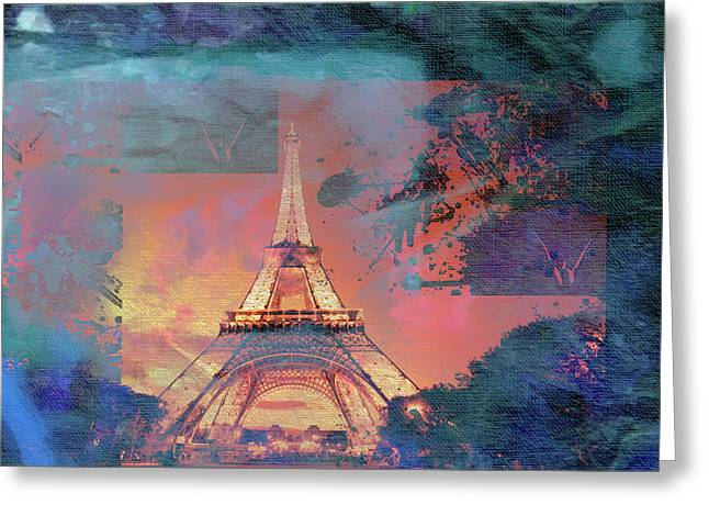 Bastille Day 5 Greeting Card by Priscilla Huber