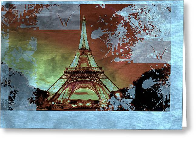 Bastille Day 8 Greeting Card by Priscilla Huber