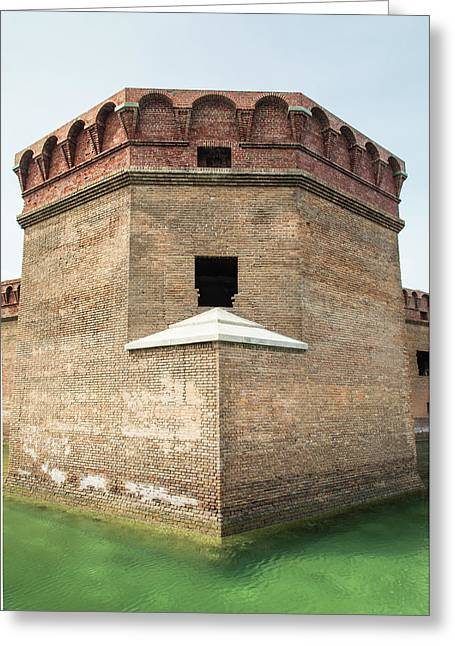 Bastion At Ft Jefferson Greeting Card