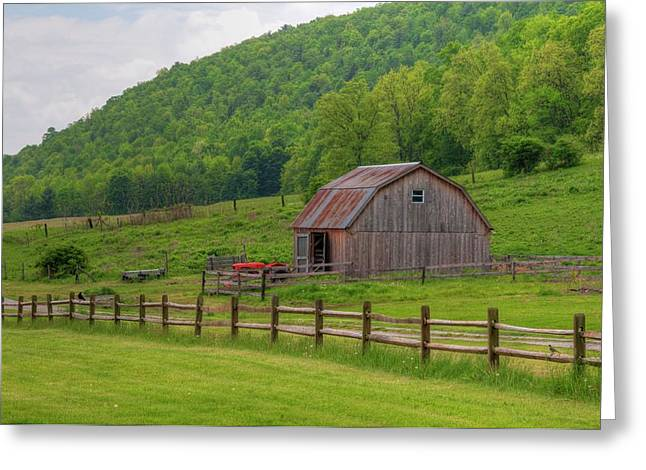 Greeting Card featuring the photograph Bath Barn 0428a by Guy Whiteley