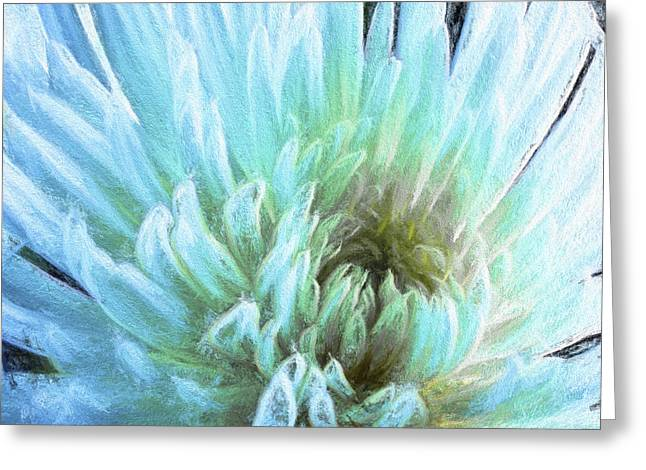 Bathing In Blue IIi Greeting Card