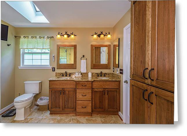 Bathroom Remodeling Manassas Va Greeting Card