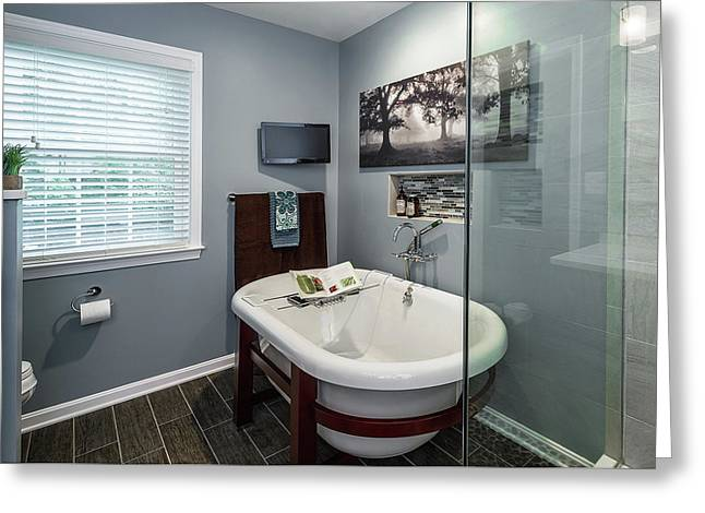 Bathroom Remodeling Reston Va Greeting Card