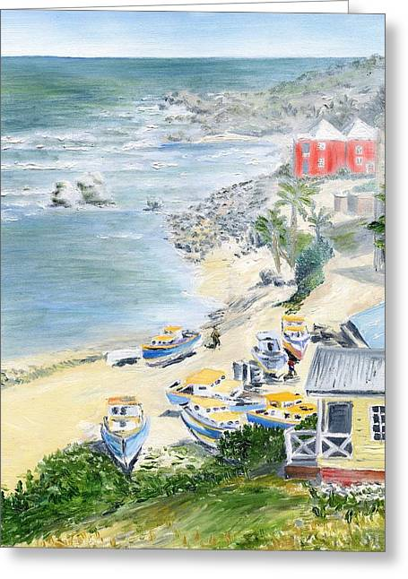 Bathsheba Lookout Greeting Card