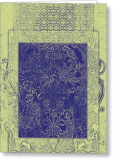 Batik 10 Greeting Card