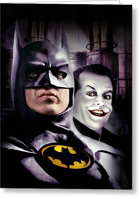 Batman 1989 Greeting Card
