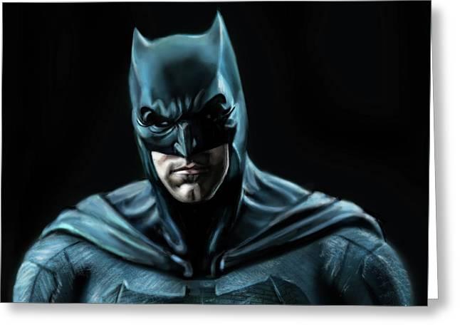 Batman Justice League Greeting Card