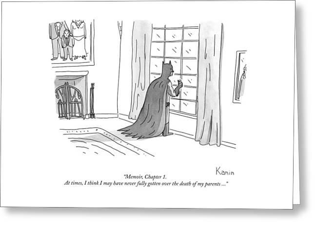 Batman Memoir Chapter 1 Greeting Card