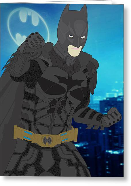 Batman - The Dark Knight Greeting Card