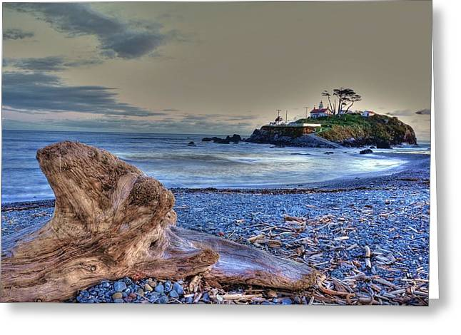 Battery Point 2 Greeting Card by Peter Schumacher