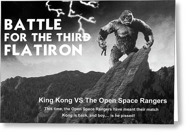 Battle For The Third Flatiron Greeting Card