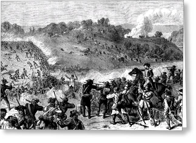 Battle Of Harlem Heights, 1776 Greeting Card